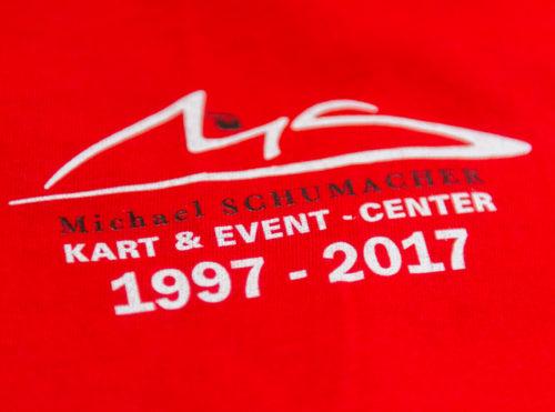 Michael Schumacher Tasse Jubiläum 20 Jahre